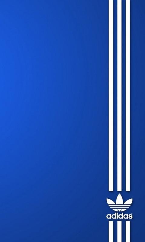 Adidas Blue Samsung Mobile Wallpapers 480x800 Hd Wallpaper Downloads 480x800