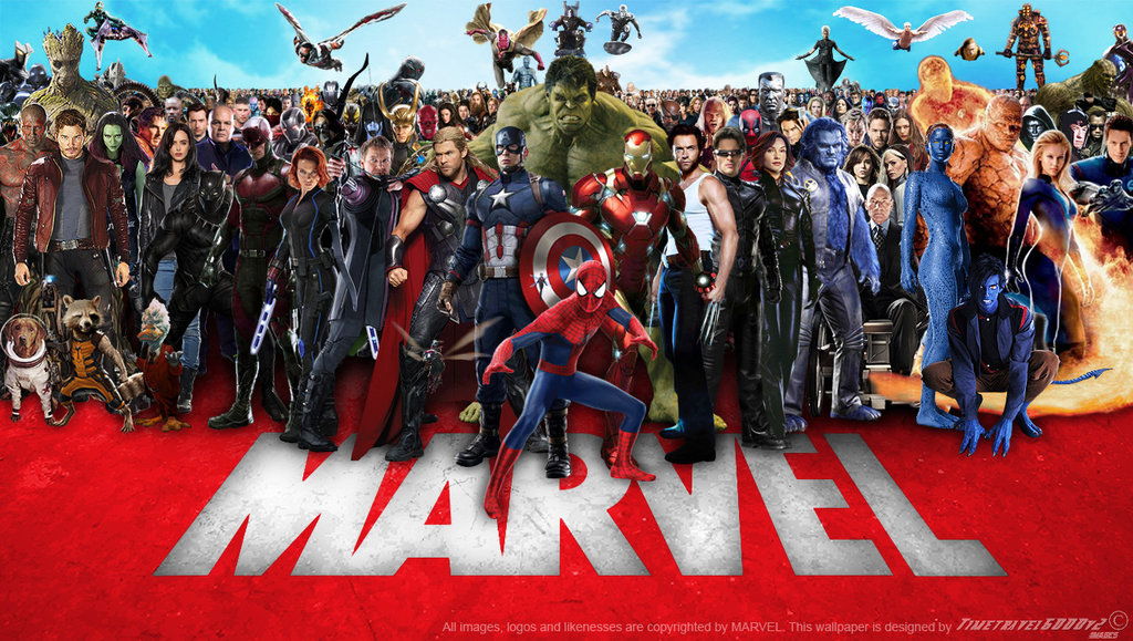 Marvel Cinematic Multiverse Wallpaper Widescreen by 1024x579