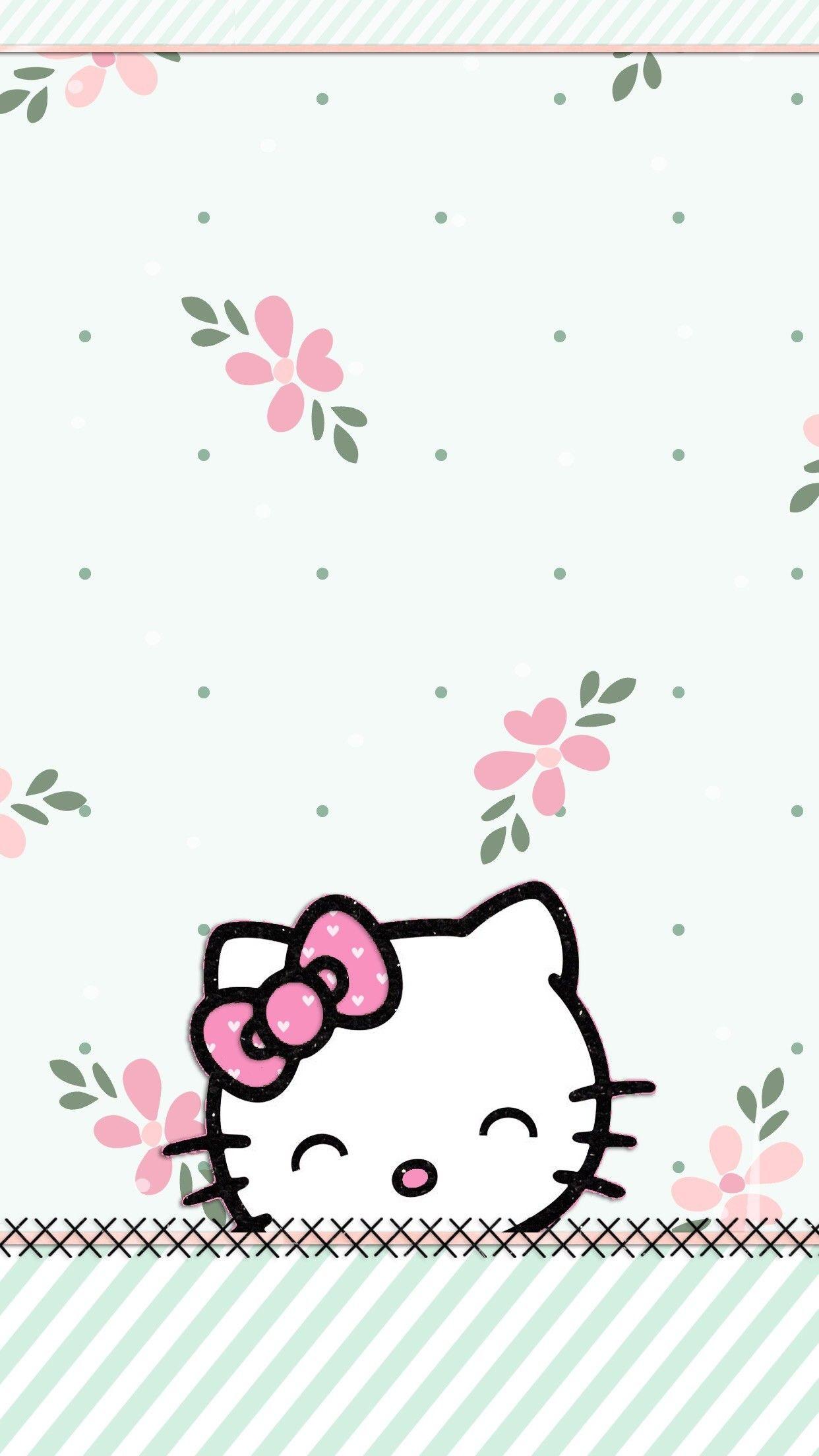 53 Pictures Of Hello Kitty Wallpaper On Wallpapersafari