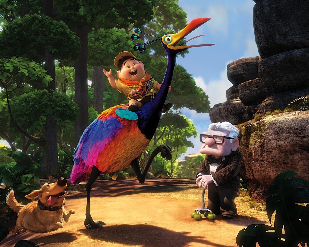 Up Wallpaper Pixar 1280x1024