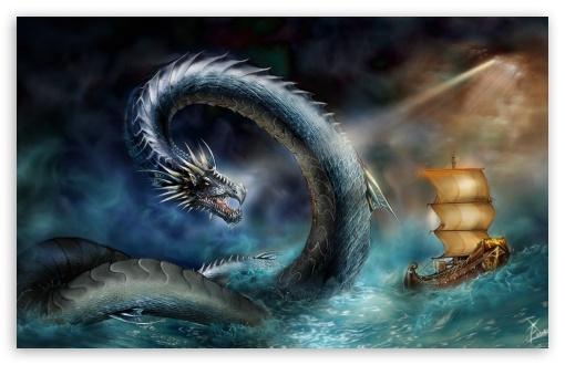 Sea Dragon HD desktop wallpaper High Definition Fullscreen 510x330