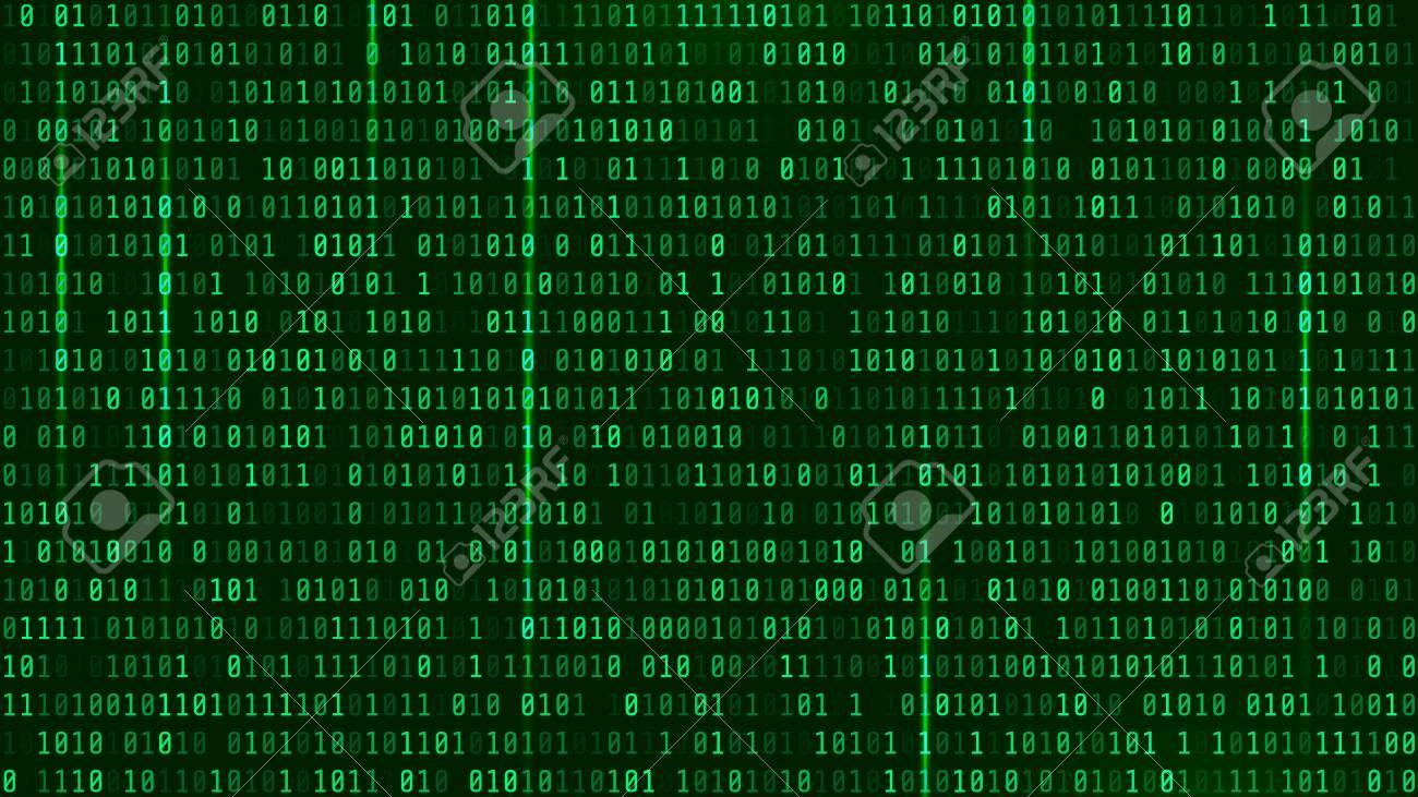 Matrix Background Style Computer Virus And Hacker Screen 1300x731