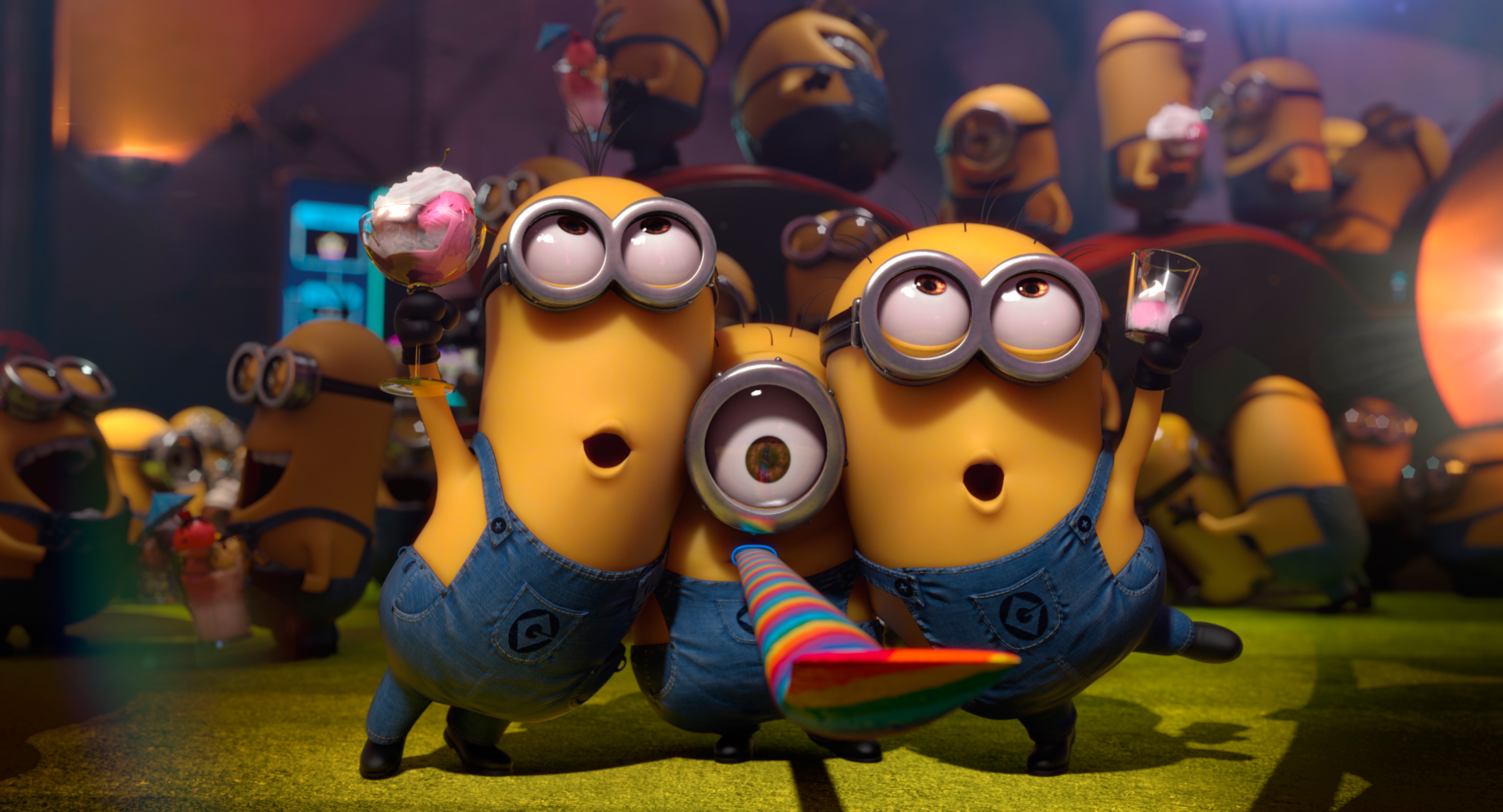 Minions Despicable Me 2 Wide HD Wallpapers 2013 3750x2027