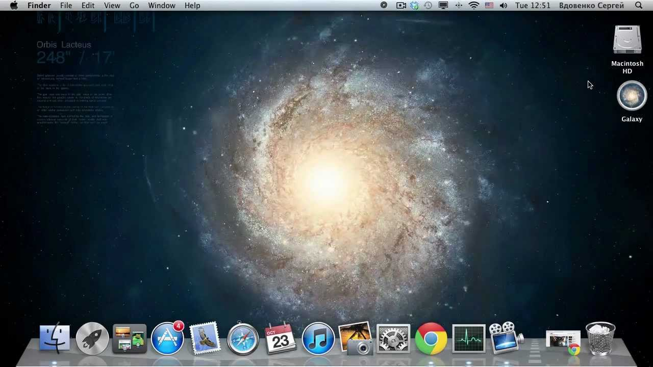 Live Wallpaper for Mac   Interactive 3D Galaxy Galaxies Stars and 1280x720