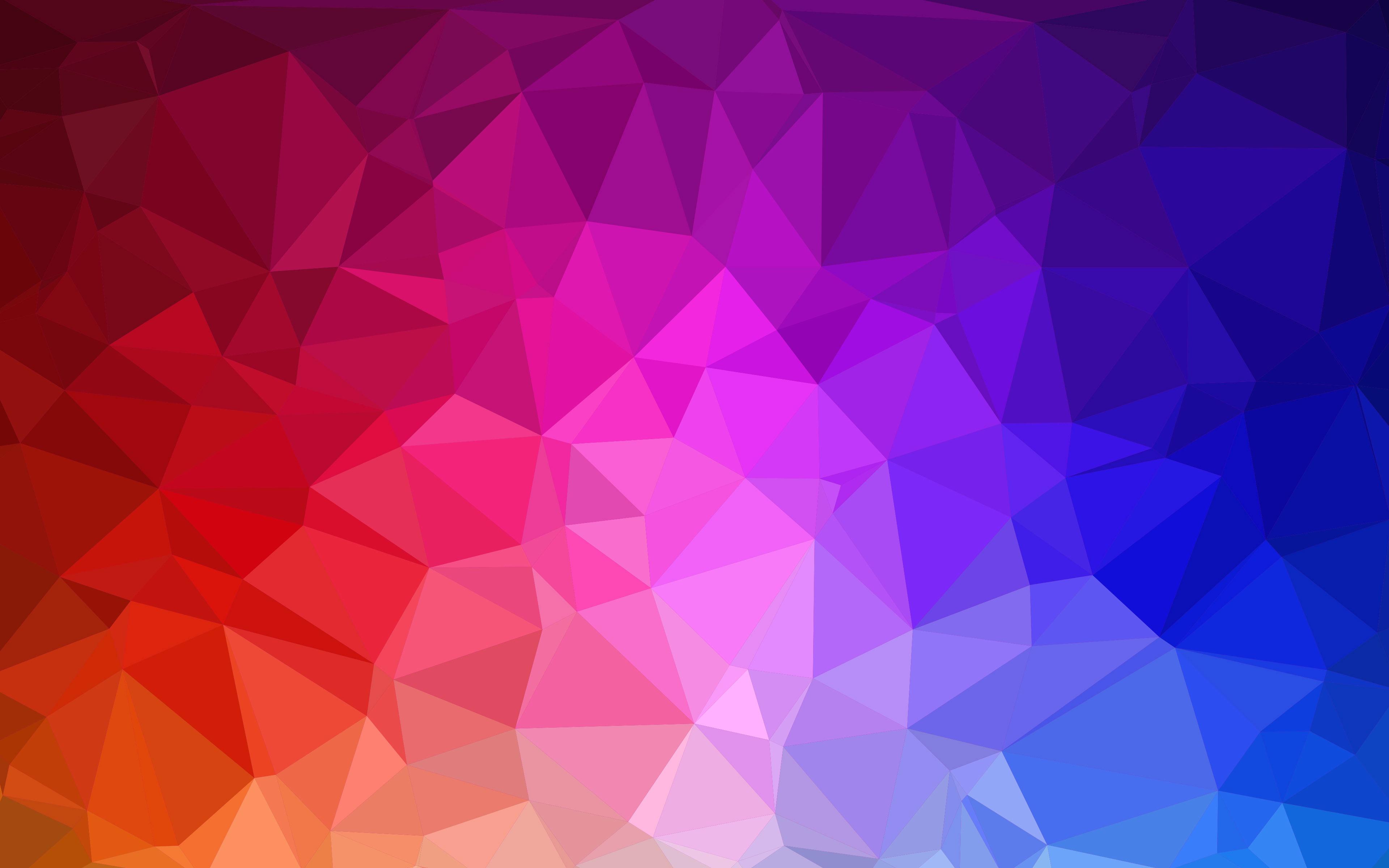 FunMozar Colorful Geometric Wallpapers 3840x2400