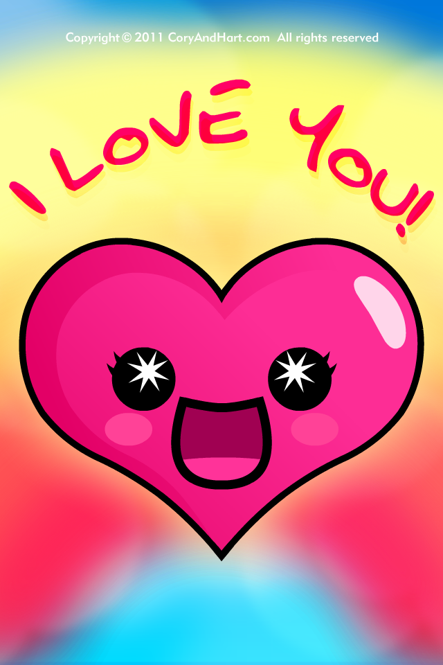 Love wallpaper iphone4 cute   587 iPhone Wallpaper 640x960