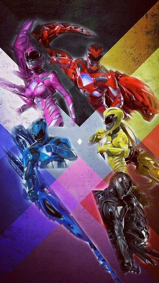 Power Rangers 2017 iPhone 7 Wallpaper 540x960