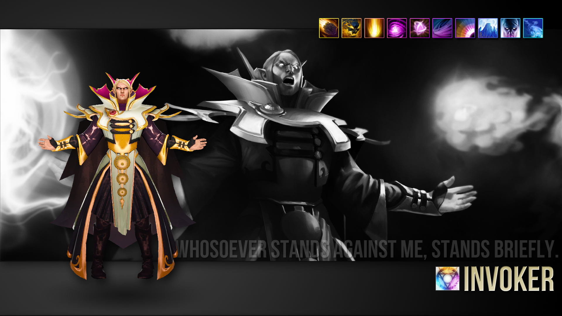 Dota 2 Wallpaper   Invoker   MMORPG Photo   MMOsitecom 1920x1080