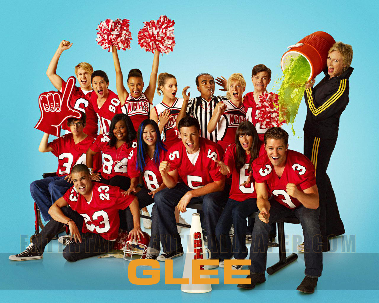 tv show glee wallpaper 20025668 size 1280x1024 more glee wallpaper 1280x1024