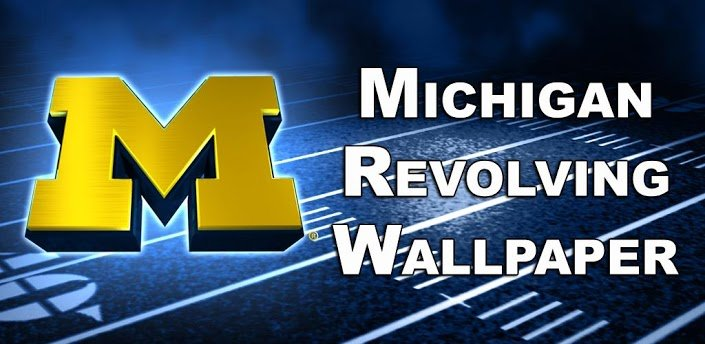 michigan wolverines logo wallpaper 705x344