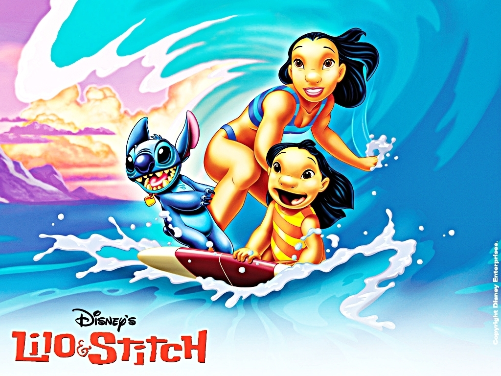 Walt Disney Characters images Walt Disney Wallpapers   Lilo Stitch 1024x768