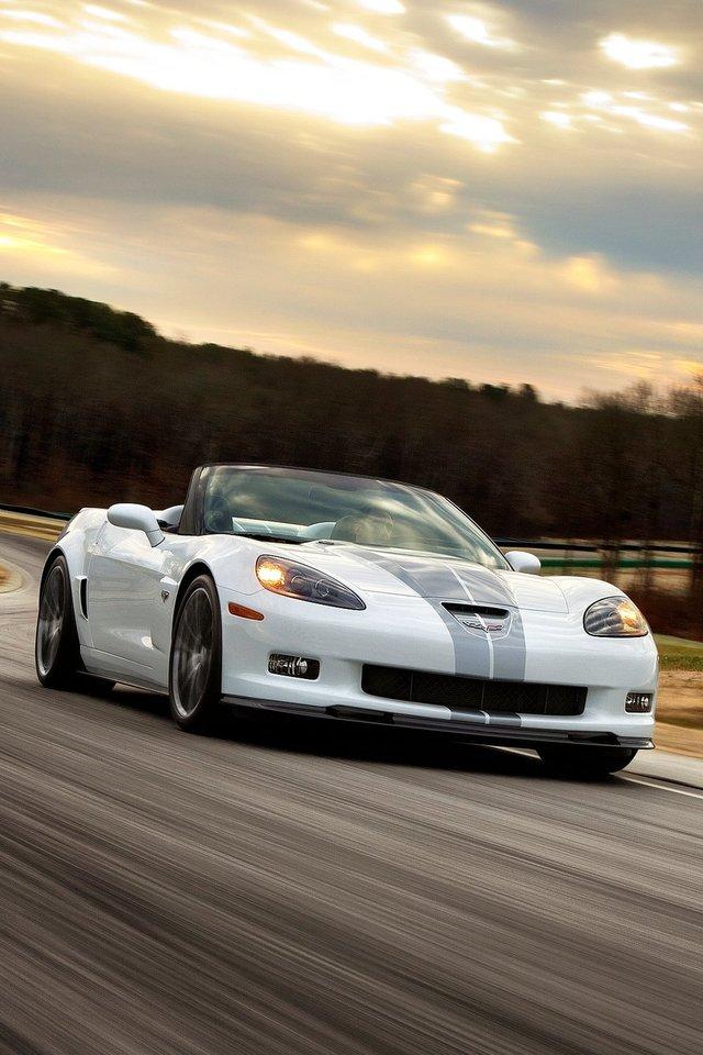 Corvette Iphone Wallpaper Wallpapersafari