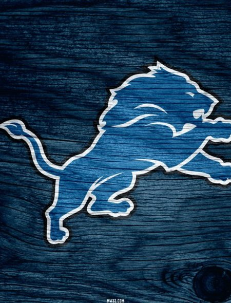 Detroit Lions Blue Weathered Wood Wallpaper for Samsung Galaxy Note 3 450x590