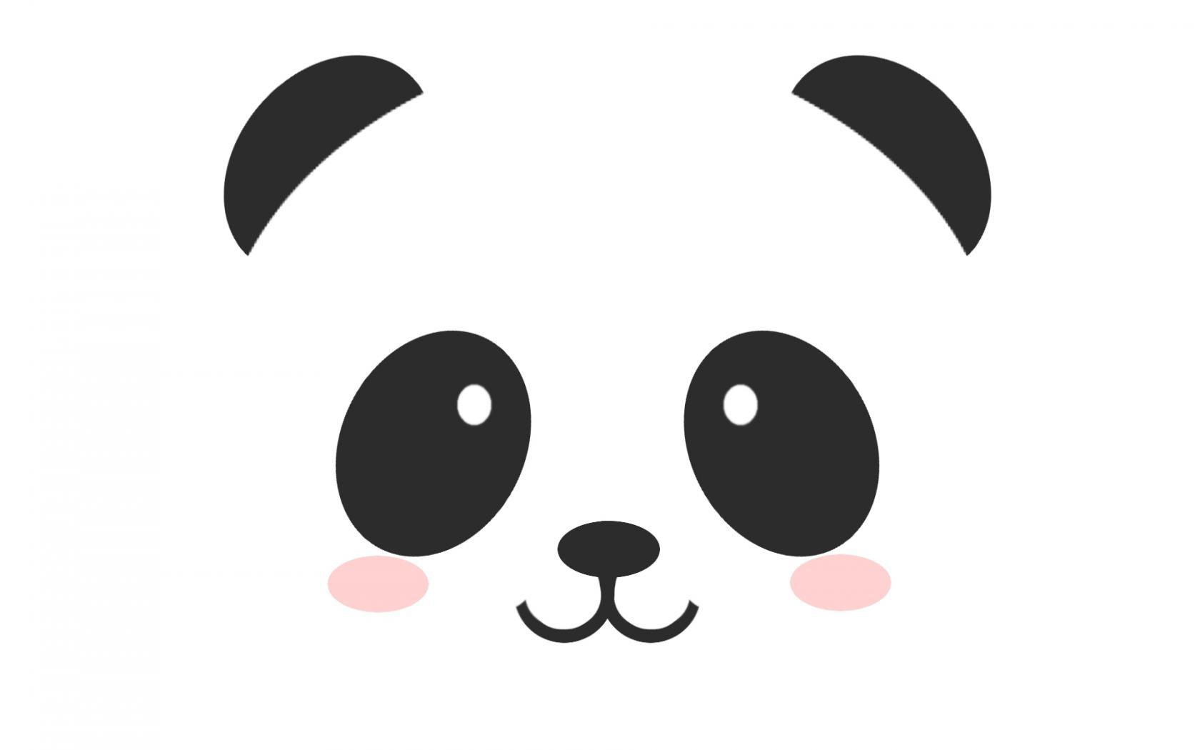 Home Cartoons HD Wallpapers Cute Panda Wallpaper 1680x1050
