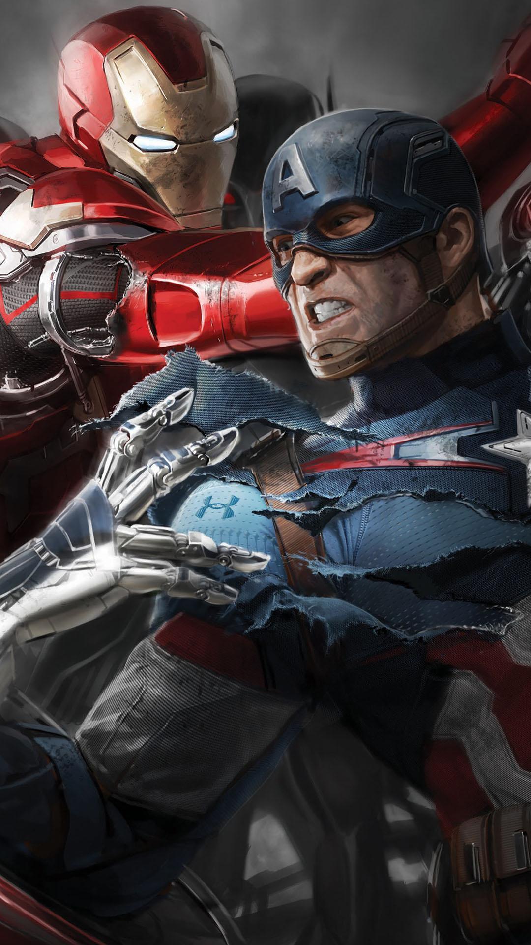 Avengers iPhone Wallpaper - WallpaperSafari
