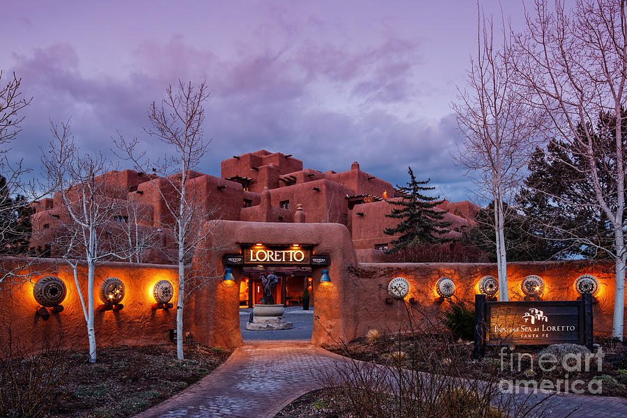 At Loretto At Twilight Santa Fe New Mexico Photograph HD Wallpaper 900x600
