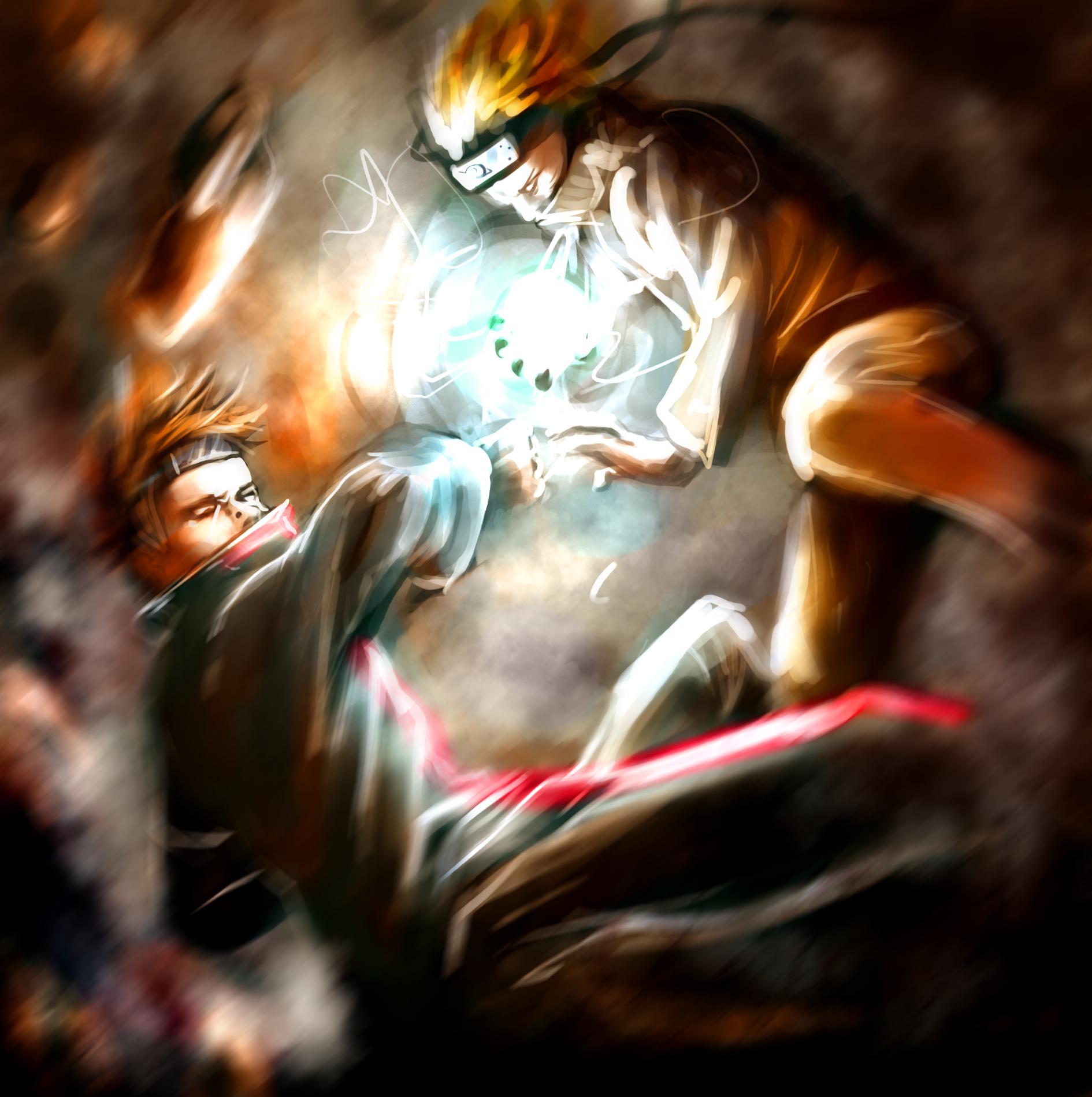Naruto Hd Wallpaper: Naruto Vs Pain Wallpaper