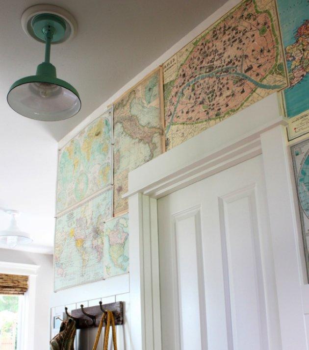 map wallpaper 630x714