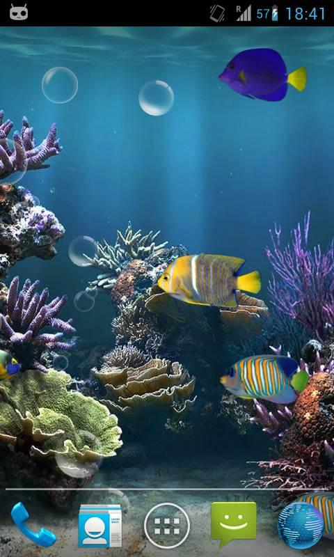 Fish Aquarium Live Wallpaper   Android Apps on Google Play 480x800