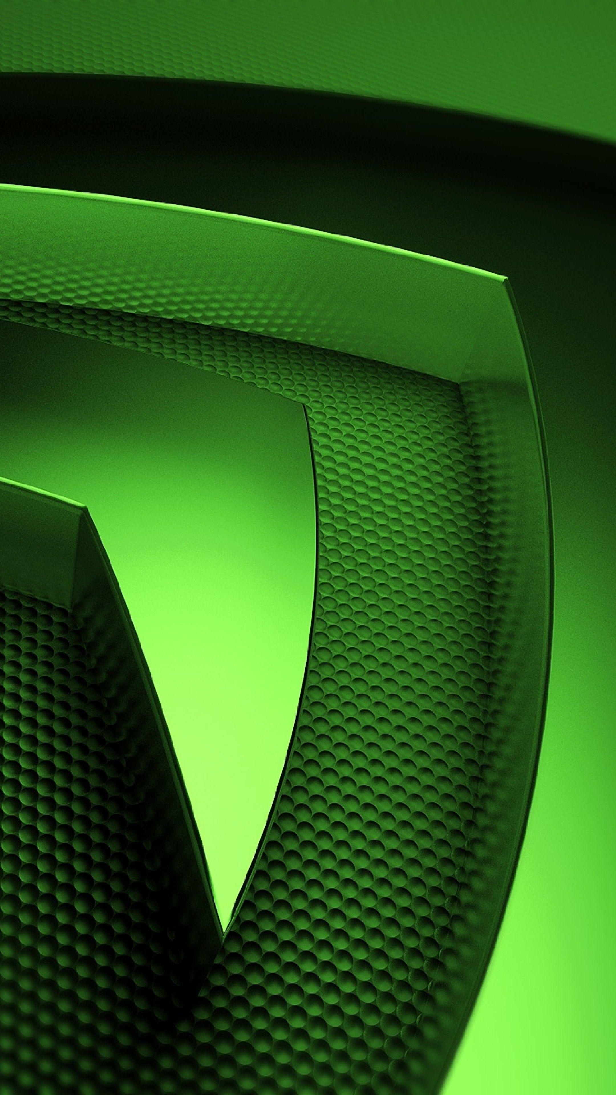 2160x3840 2160x3840 Wallpaper nvidia green symbol Cool 2160x3840