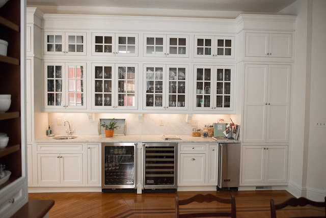 Wallpaper and Painting   Traditional   Kitchen   richmond   by HJ 640x428
