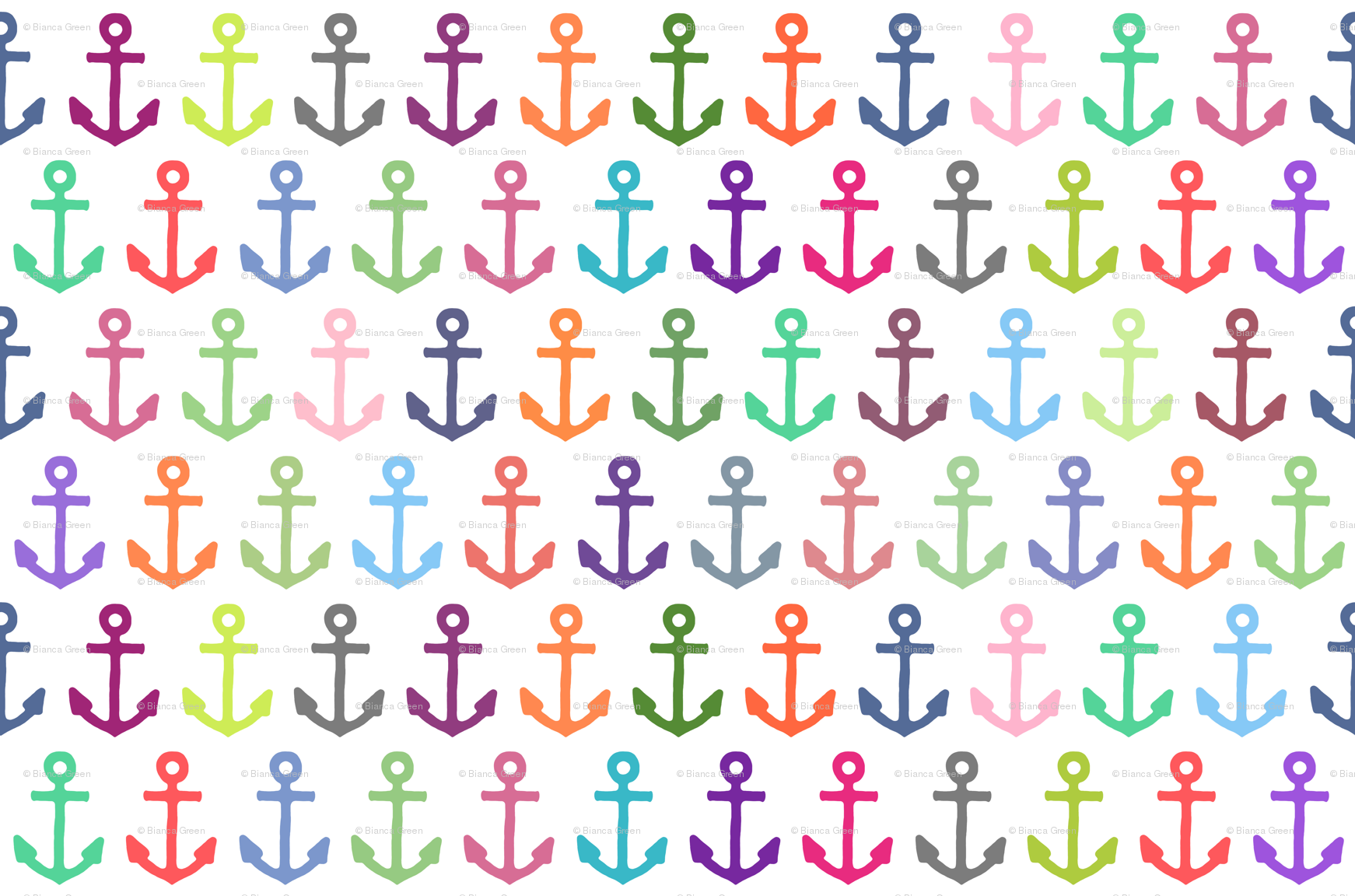 Cute Anchor Wallpapers   Anchor Pattern Hd Wallpapers 1742x1152