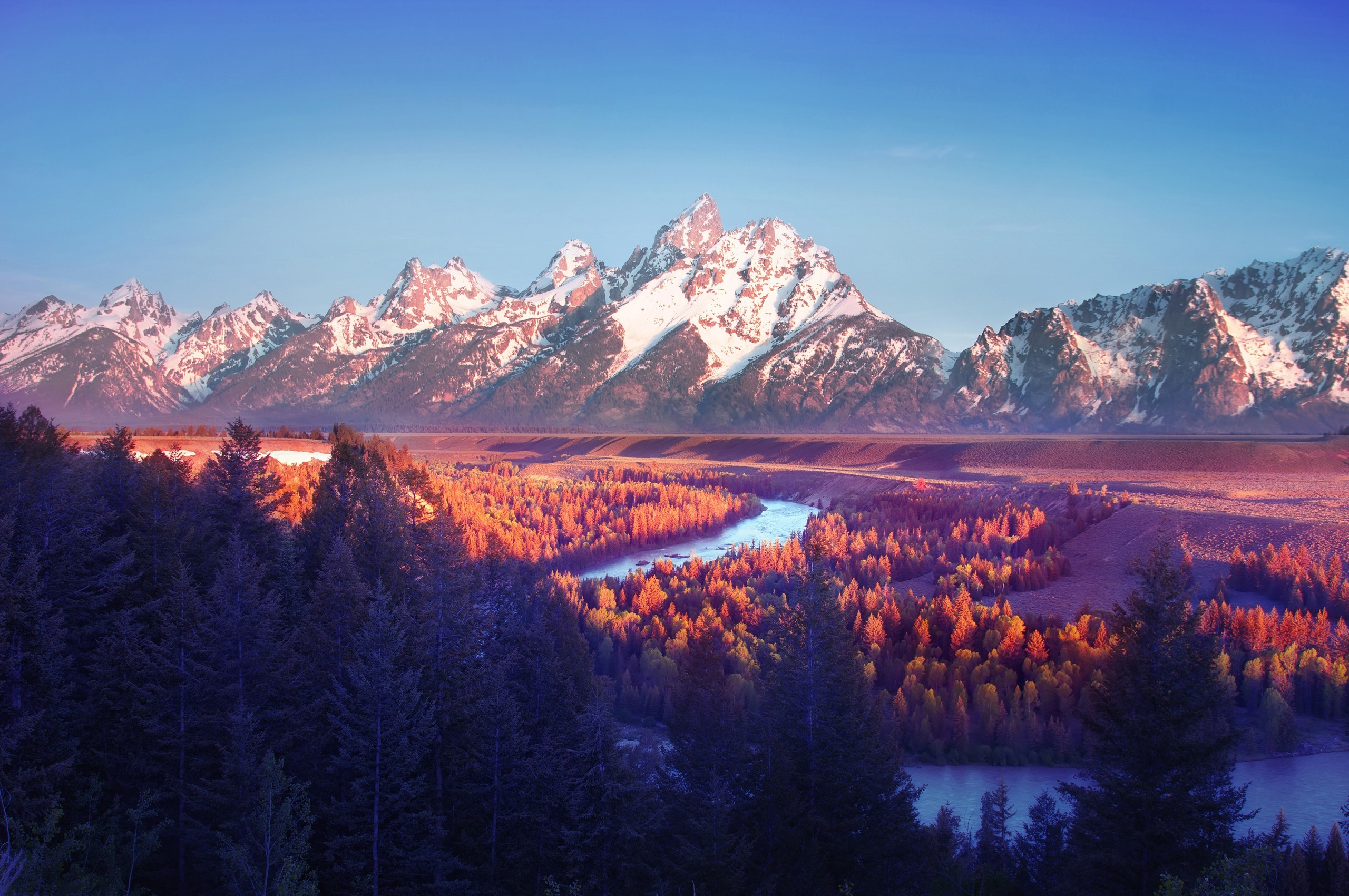 4585785 mountains Wyoming landscape snake river overlook 2560x1700