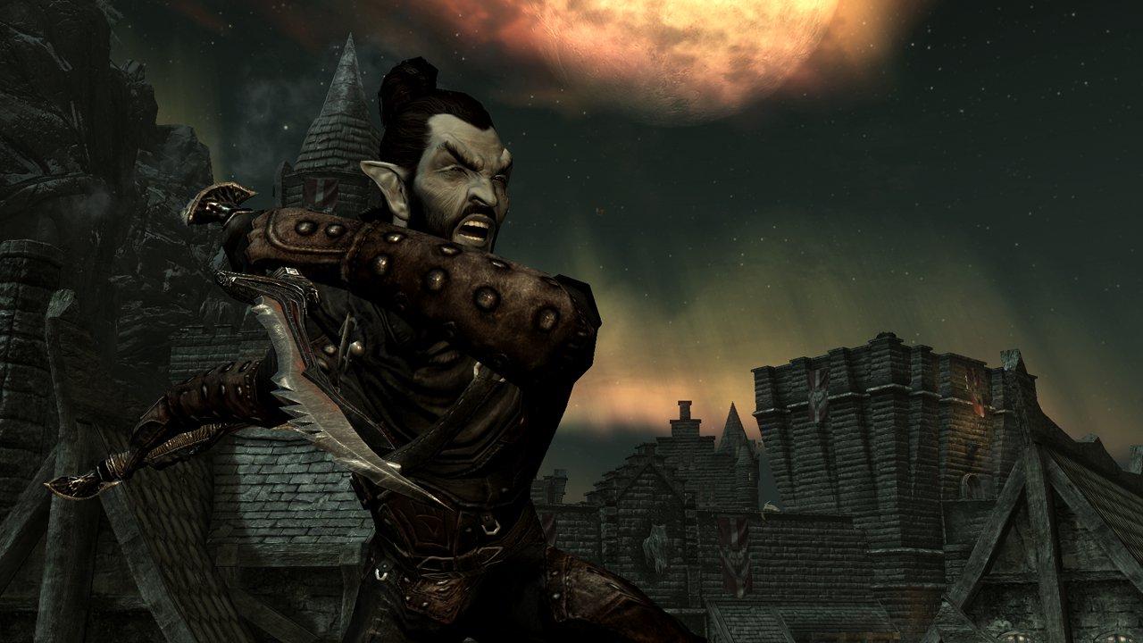 New Dark Elf Thief Screenshot from The Elder Scrolls facebook page 1280x720