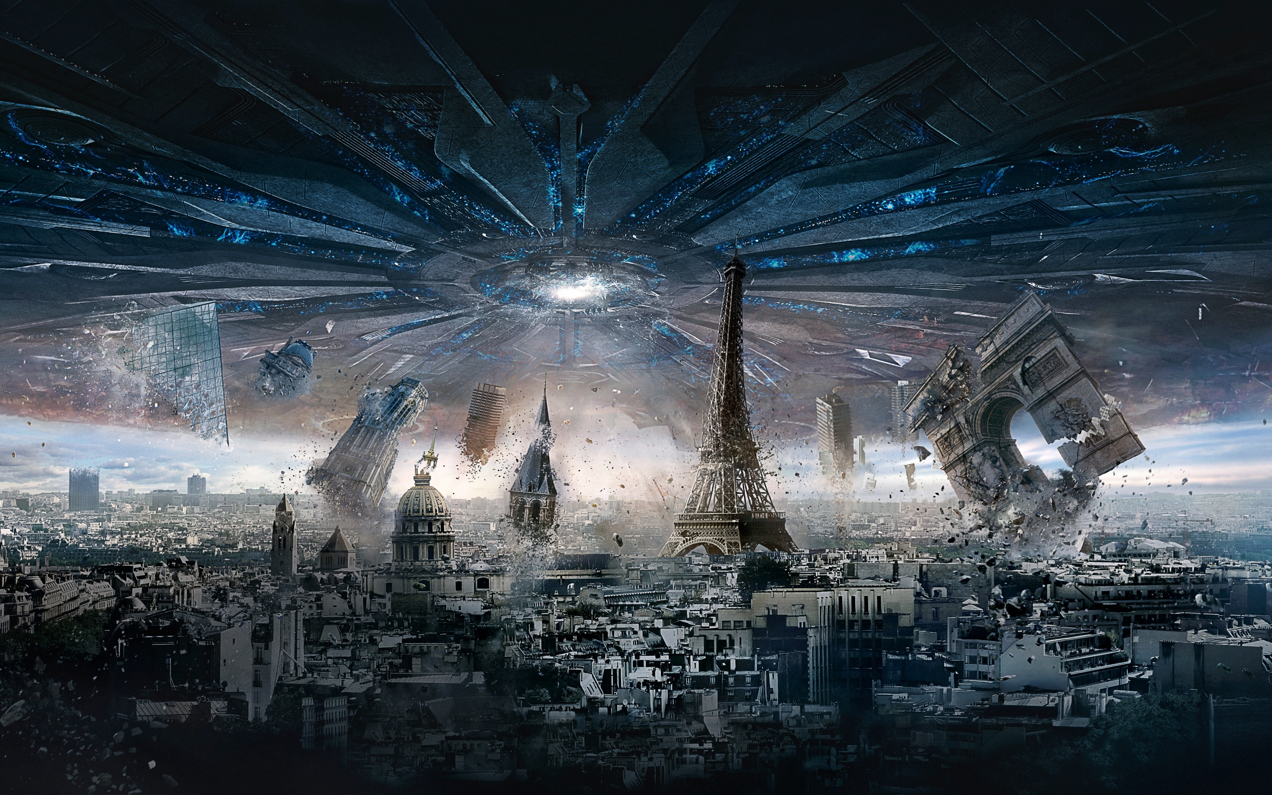 Independence Day Resurgence Paris HD Wallpaper Background 2560x1600