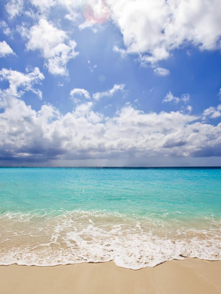 caribbean beach wallpaper hd Walldesk Chivat 768x1024