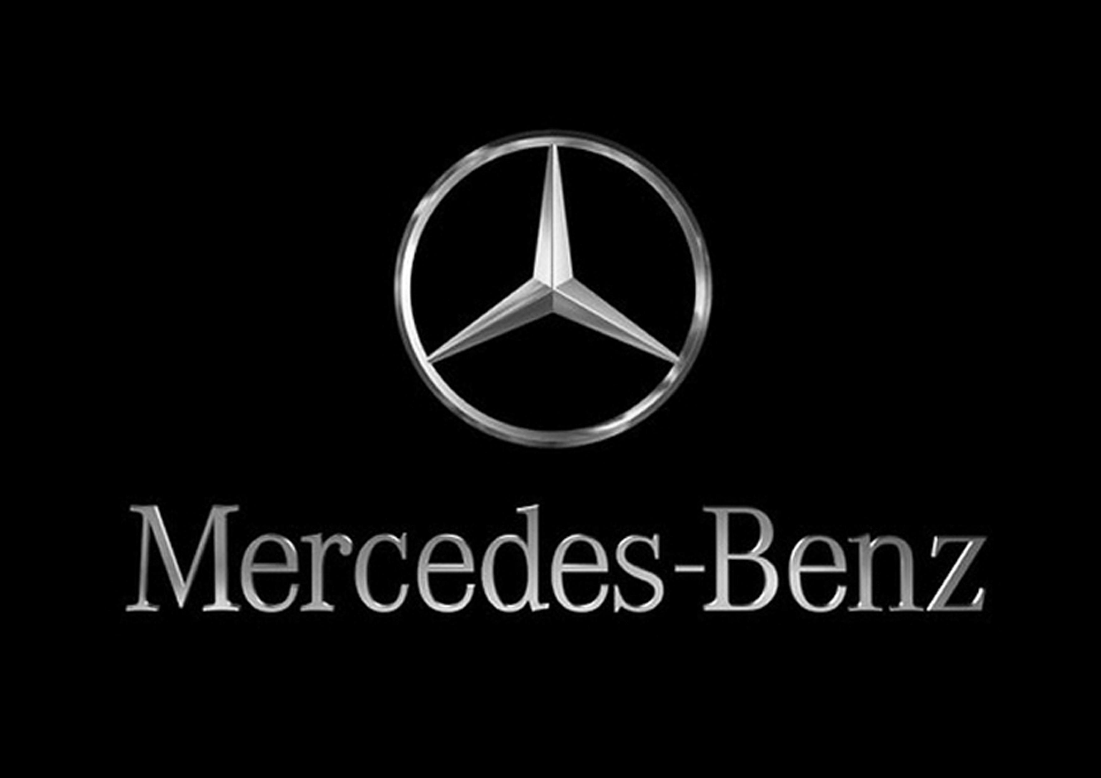 logo mercedes benz download wallpaper