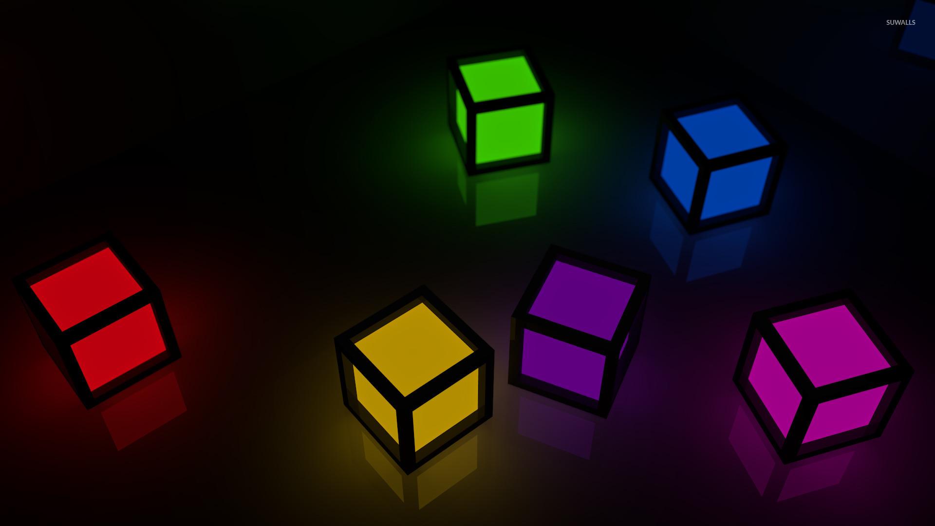 Cubes wallpaper   3D wallpapers   16046 1280x800