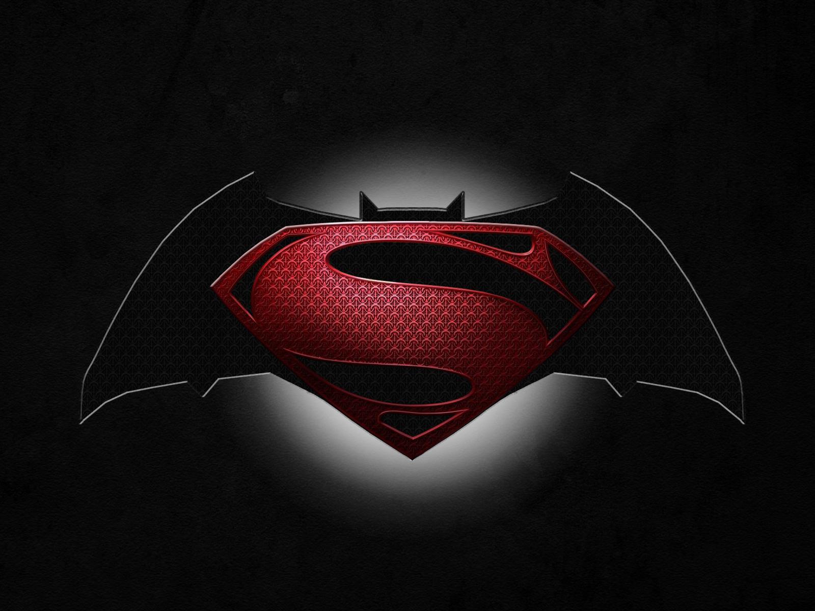 Cool Batman V Superman Symbol Wallpaper Wallpaper with 1600x1200 1600x1200