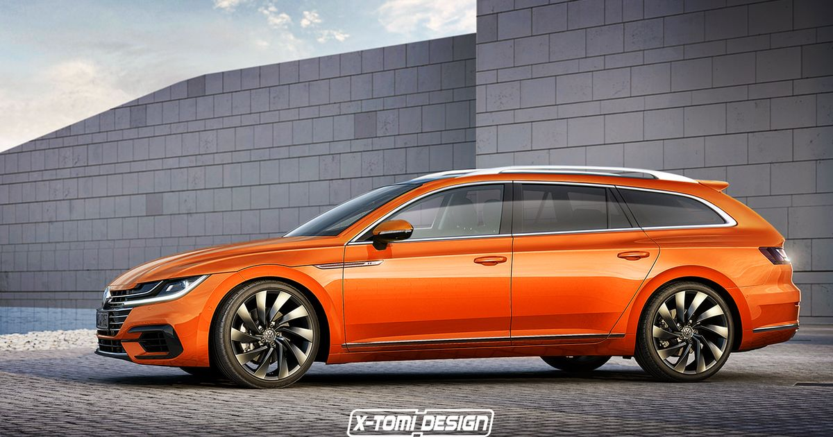 Its Official A VW Arteon Shooting Brake Is Happening And It Might 1200x630