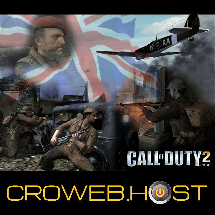 CoD2 Game Server Croatian Game Servers Call of Duty Games 750x750