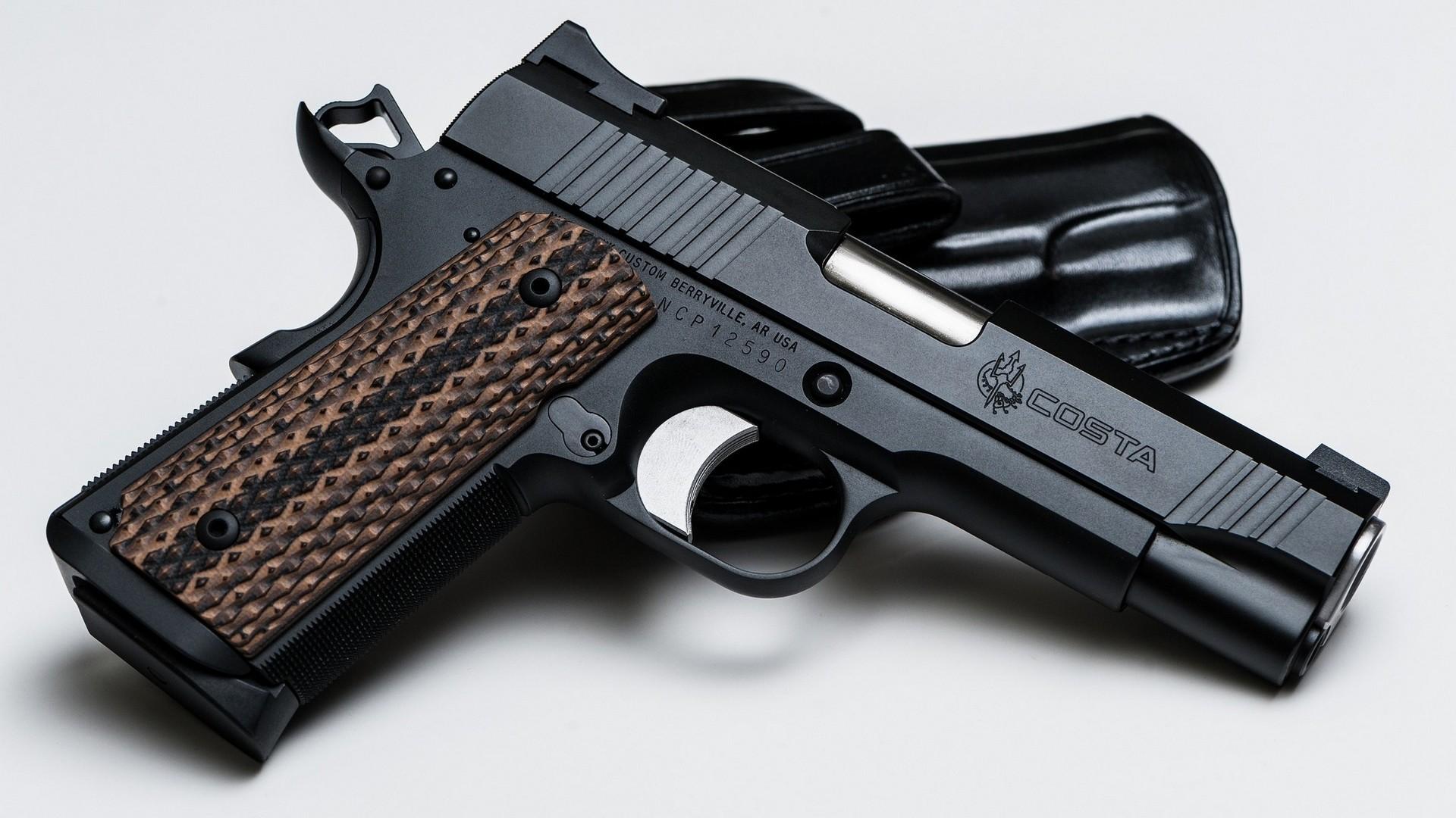 M1911 pistol wallpaper Wallpaper Wide HD 1920x1080
