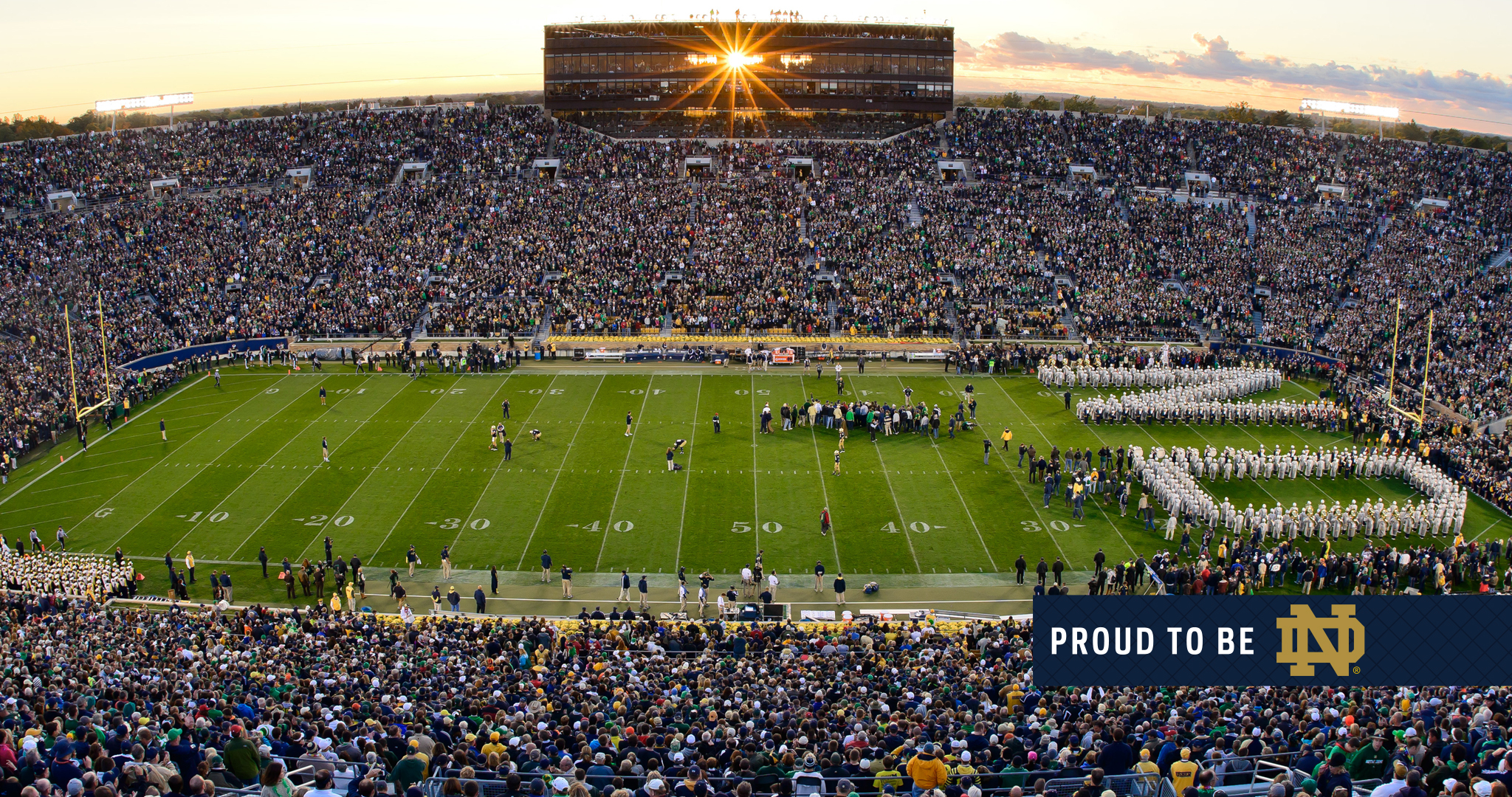 Wallpapers Proud to Be ND University of Notre Dame 2048x1080