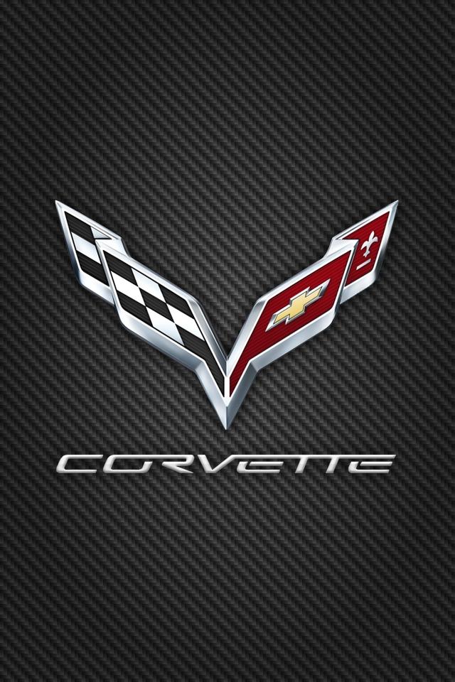 corvette logo wallpaper wallpapersafari