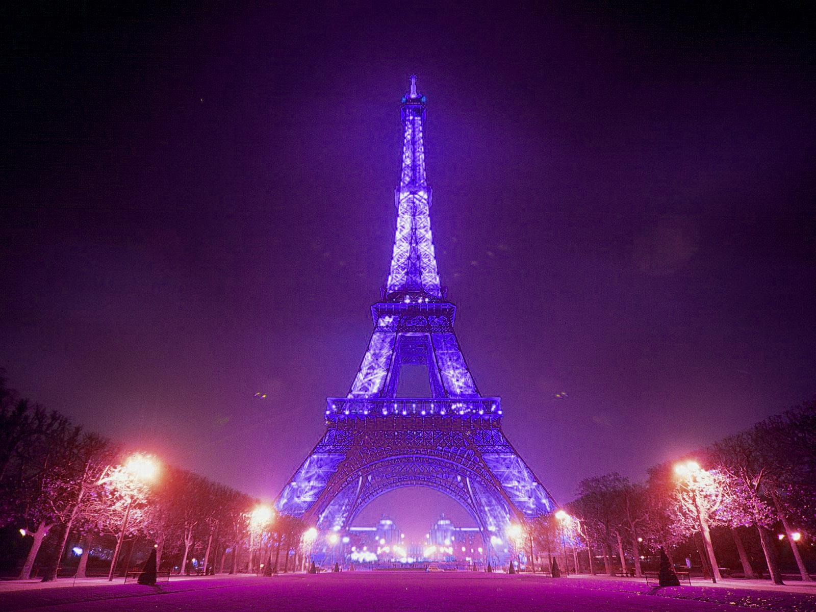 Girly Eiffel Tower Wallpaper