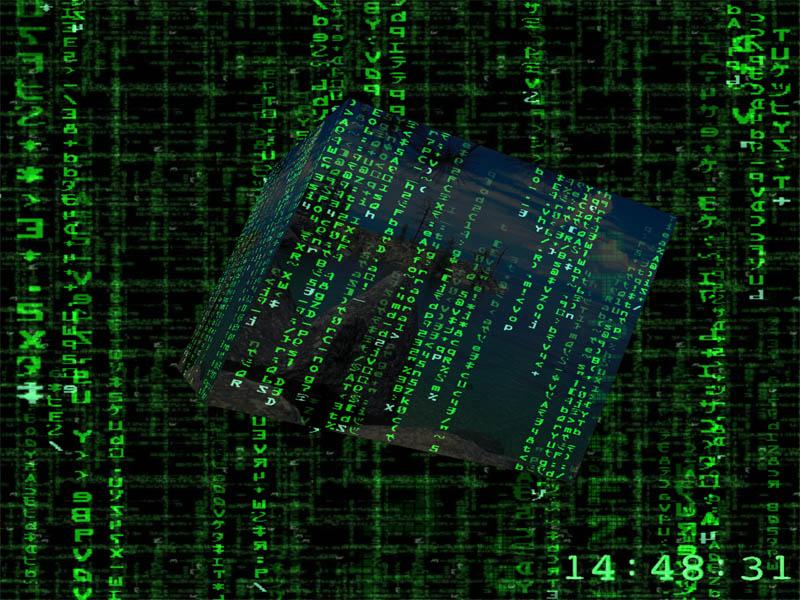 Free download Screenshots of 3D Matrix Screensaver [800x600