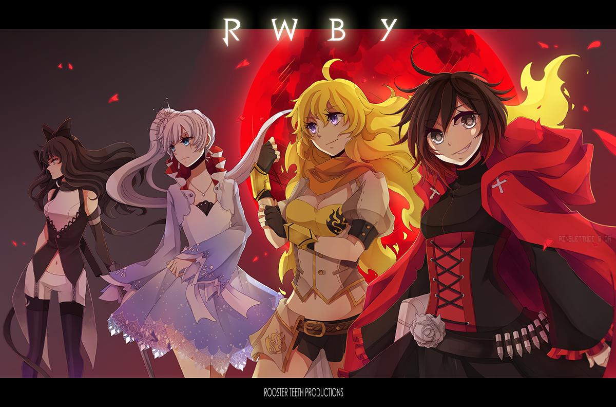 Anime RWBY Ruby Rose Wallpaper | RWBY | Pinterest | RWBY, Anime ...