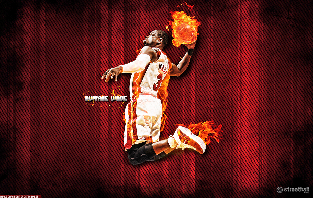 Download Dwyane Wade Wallpapers Dunk pictures in high definition or 1280x808