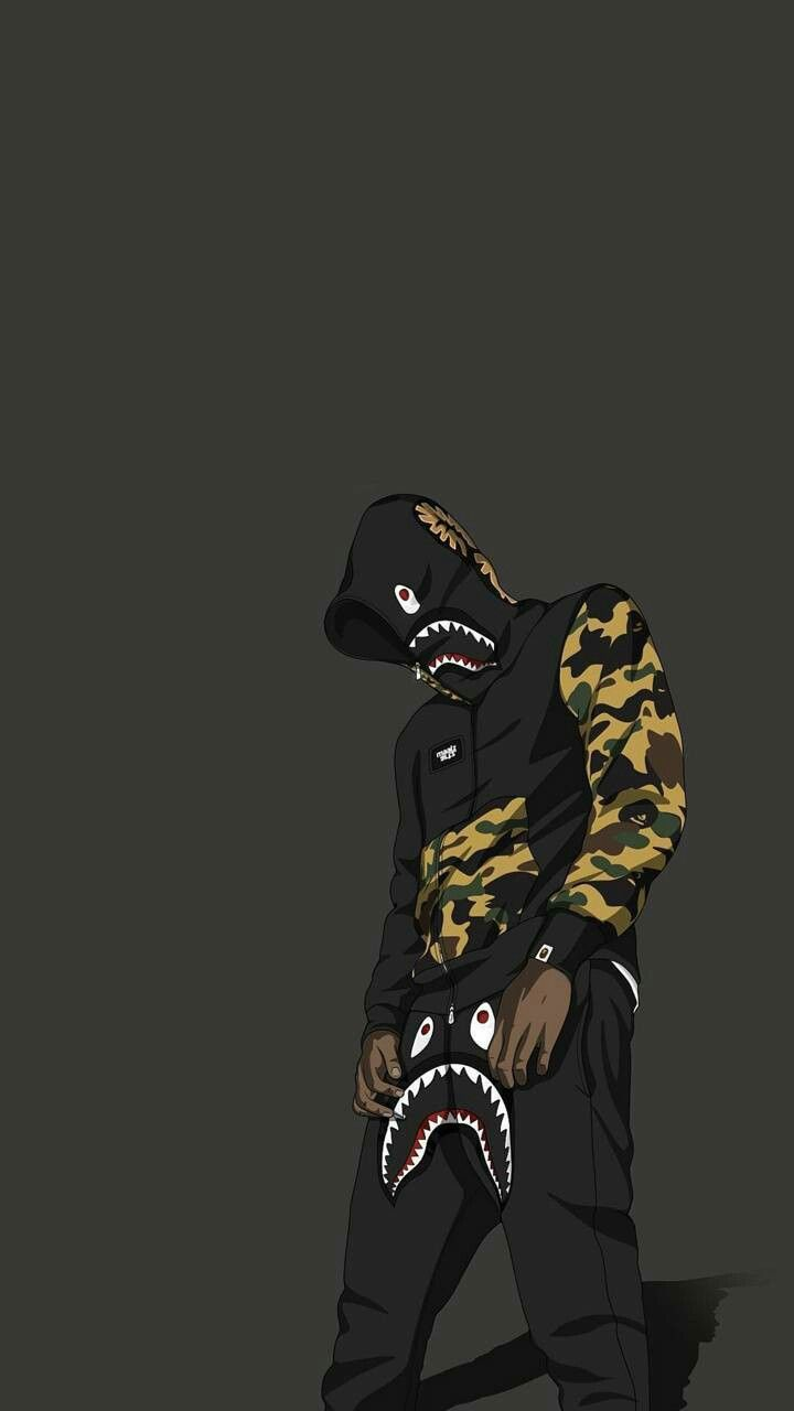 Pin by Richie Jimenez on Wallpapers Bape wallpapers Hypebeast 720x1280