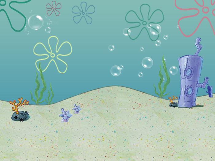76   spongebob flower background on wallpapersafari