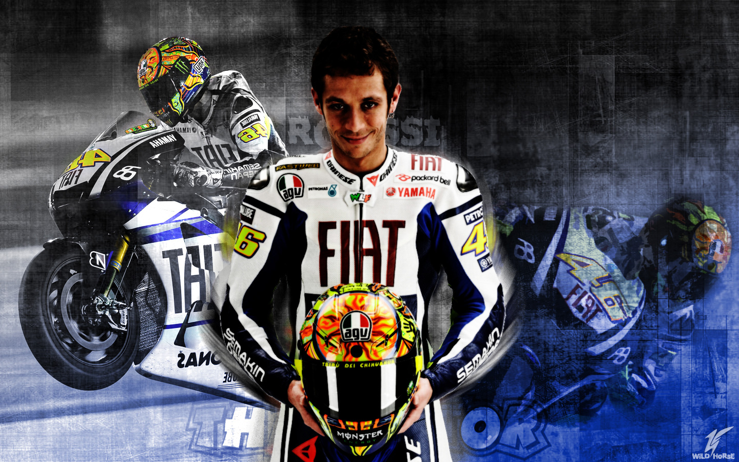 Valentino Rossi Wallpaper HD 1440x900