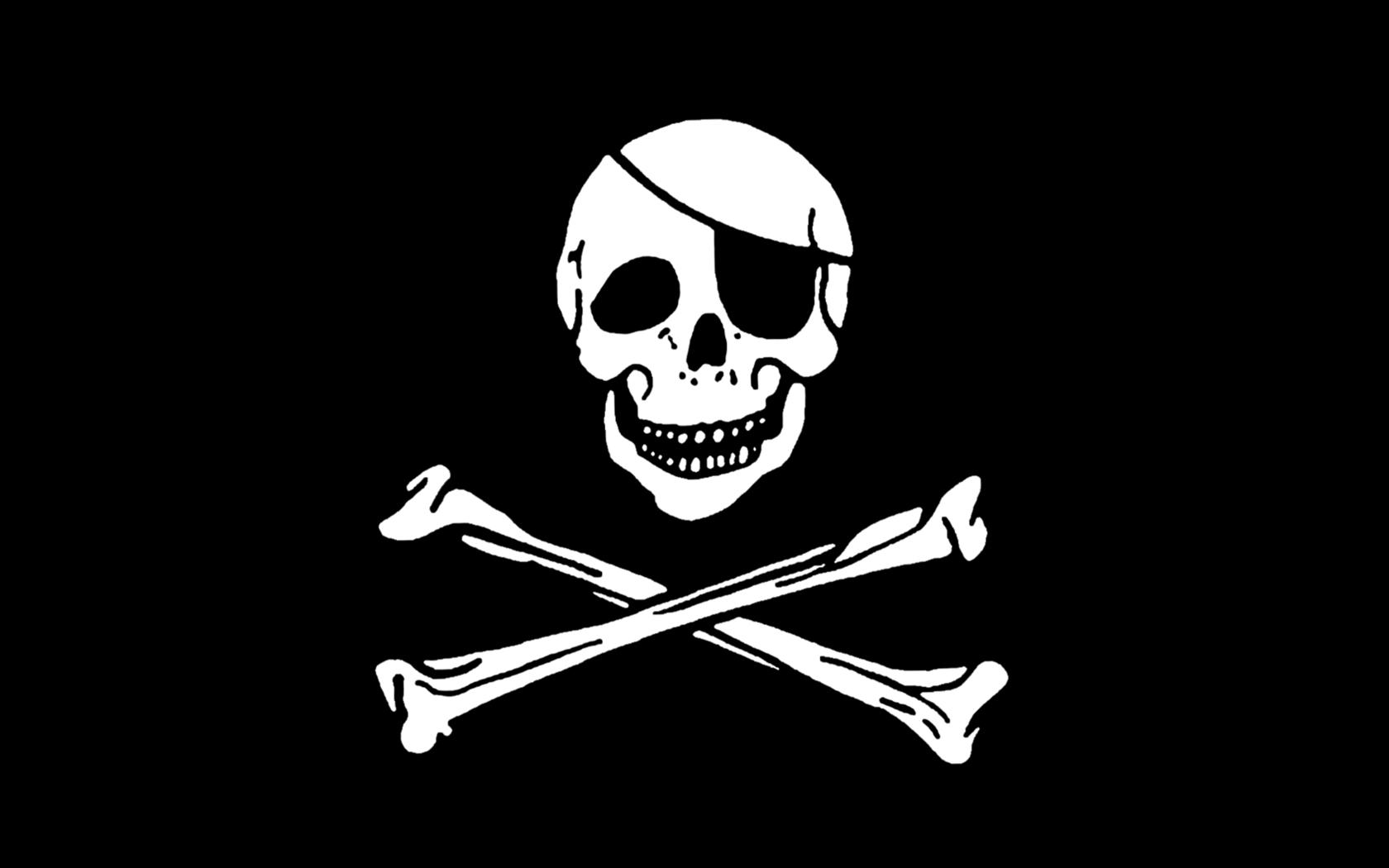 [42+] Pirate Flag Wallpaper on WallpaperSafari