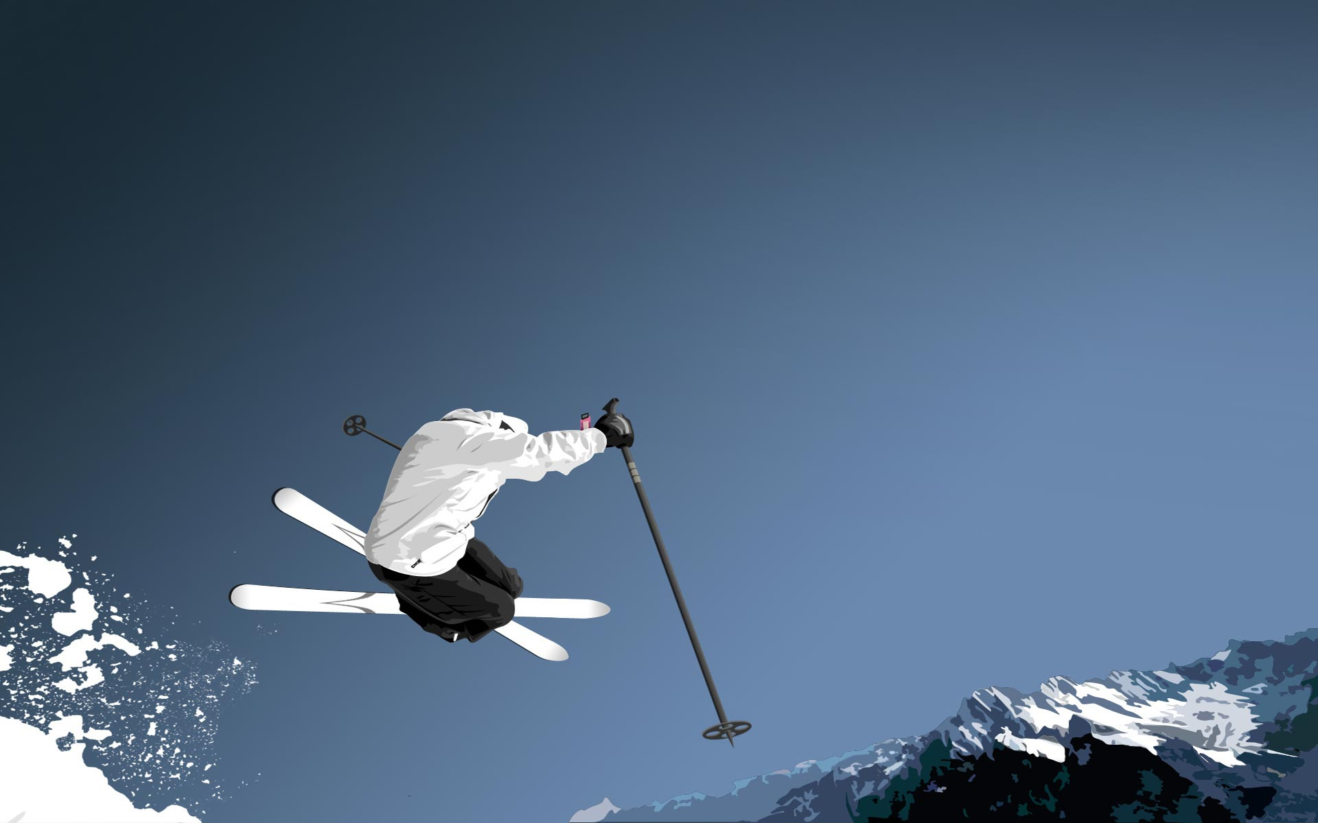 Skiing Sport Wallpaper Iphone: Free Wallpaper Skiing