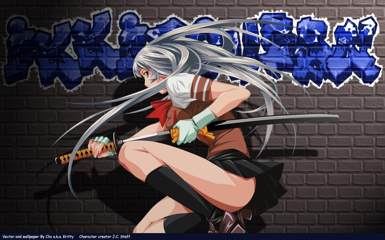 Ikkitousen Ecchi Anime 1280x800