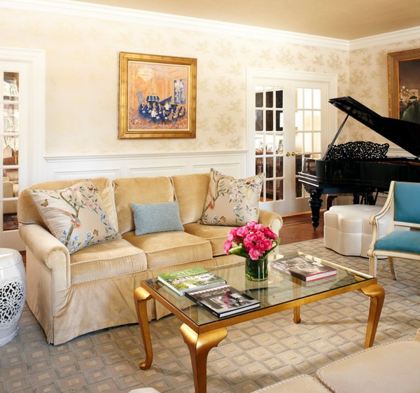 warm living room ideas with cream sofa is part of vibrant living room 600x561