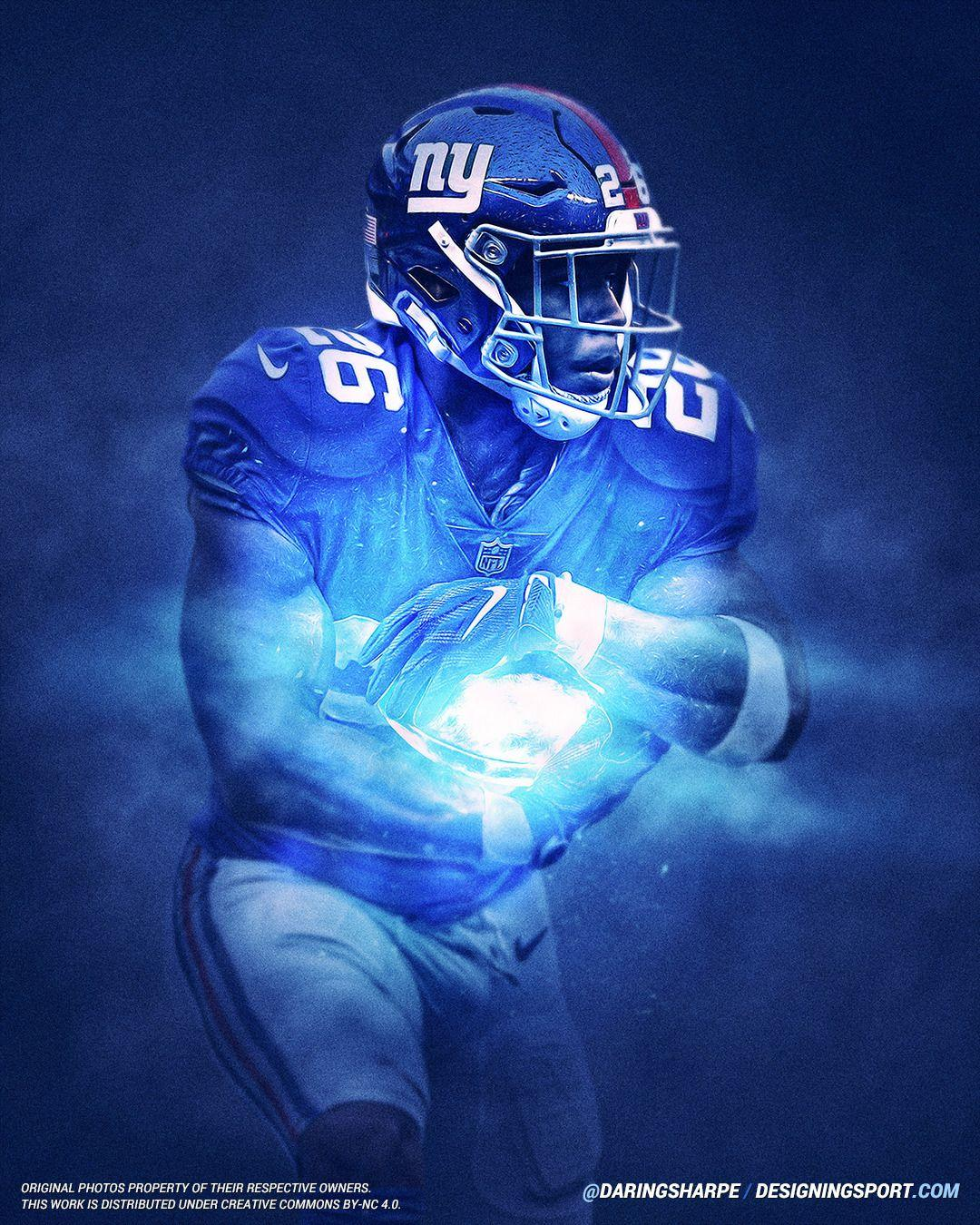Saquon Barkley New York Giants Wallpapers 1080x1350